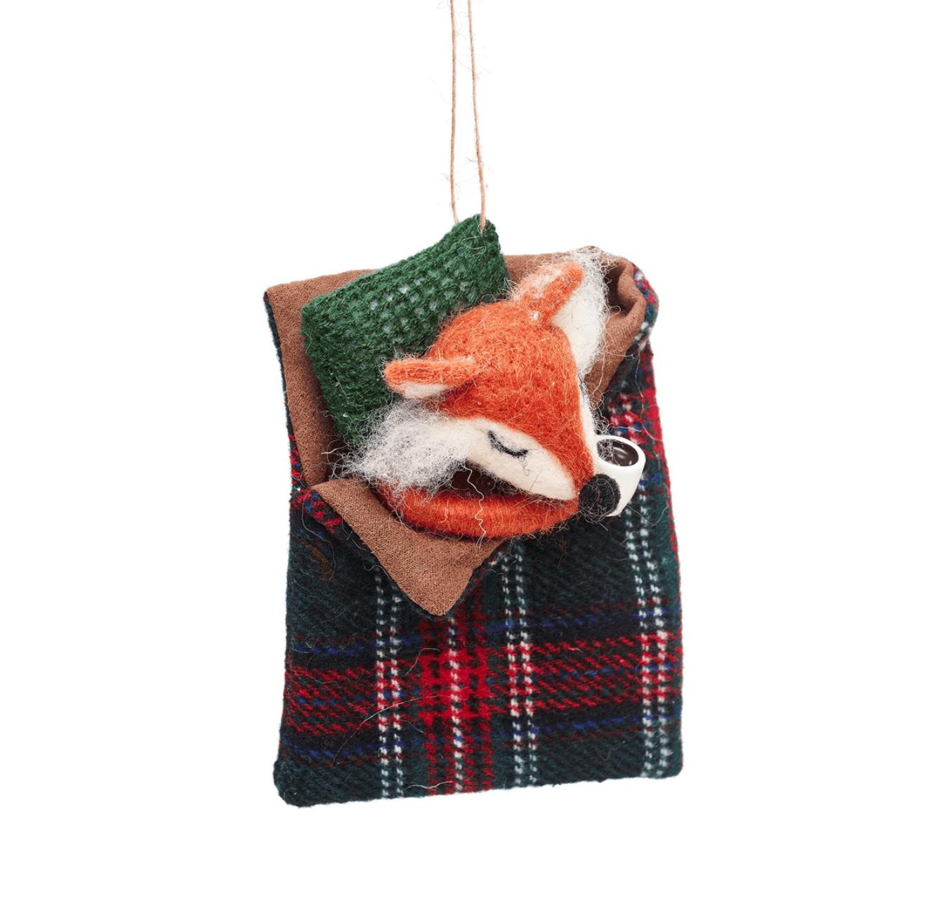 Fox Felt Decoration By Sass & Belle